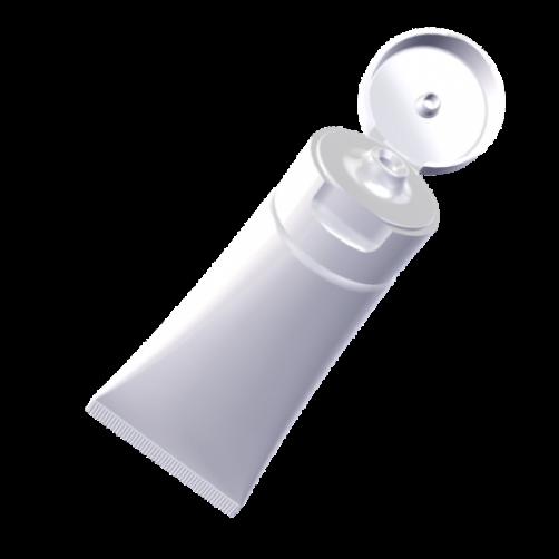 Embalaža za kozmetiko TUBA s flip top pokrovčkov 150ml