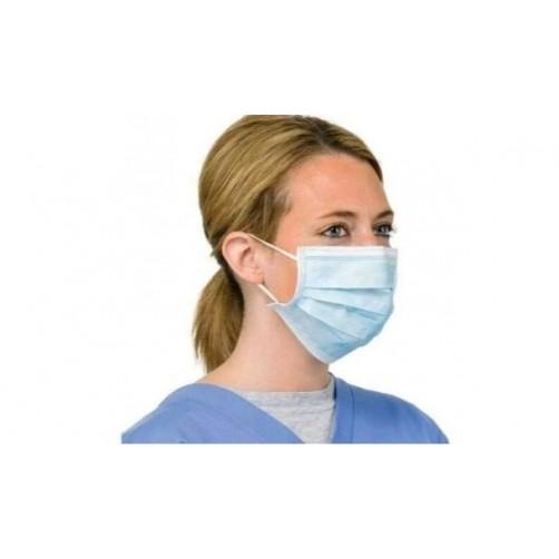 Kirurška maska 3-slojna 50 kosov
