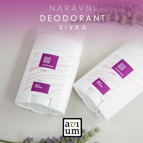 Deodorant 100% naravno