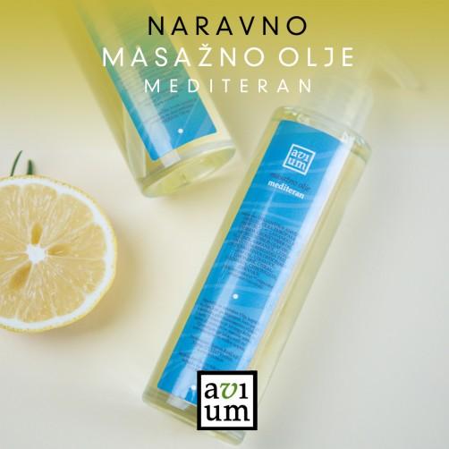 Mediteran masažno olje 100ml