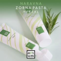 Zobna pasta Herbal